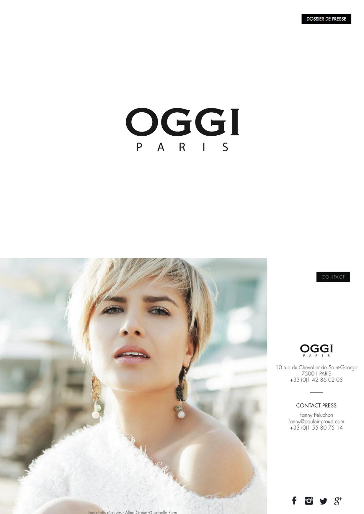 Dossier de Presse 2016 OGGI