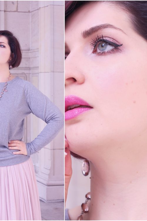bijoux murano rose