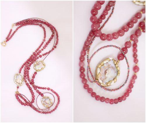 Sardinian pearl necklace