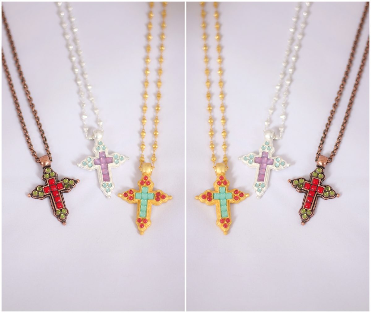necklace with cross for women
