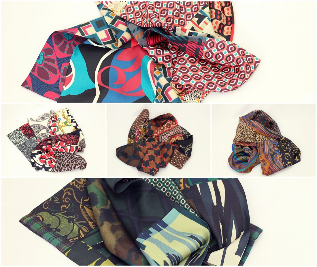 silk scarf for women