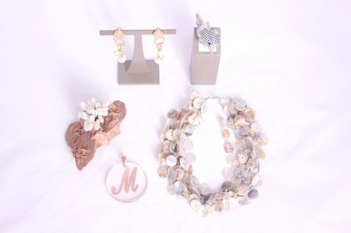 Mother-of-pearl and pearl jewelry